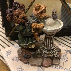 Boyds Bears Bearstone Figurine Sissie and Squirt